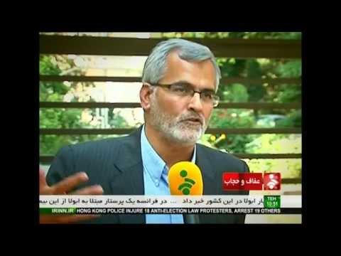 Critic of  Islamic Republic censorship of satellite TV  on  Iranian TV
