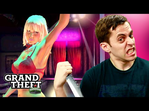 KNIFE DAY AT THE STRIP CLUB (Grand Theft Smosh)