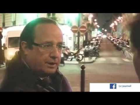 """Hollande en 2009: """"Le gouvernement invente des terroristes"""""""