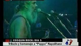 Tributo a Pappo: Deacon Jones, Botafogo, Luciano y Robinson.