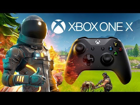 Fortnite Xbox One X Console Best Blitz Battle Hound Skin Live