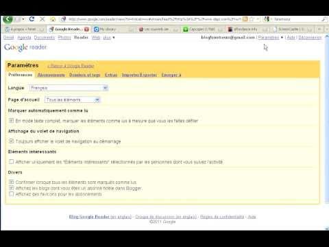 Tuto vidéo : Google Reader, un agrégateur de flux pour optimiser sa veille