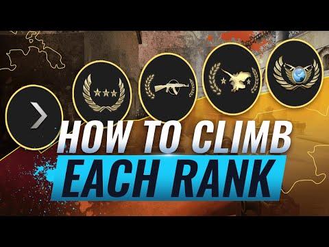 HOW TO CLIMB EACH RANK & ESCAPE YOUR ELO CS:GO
