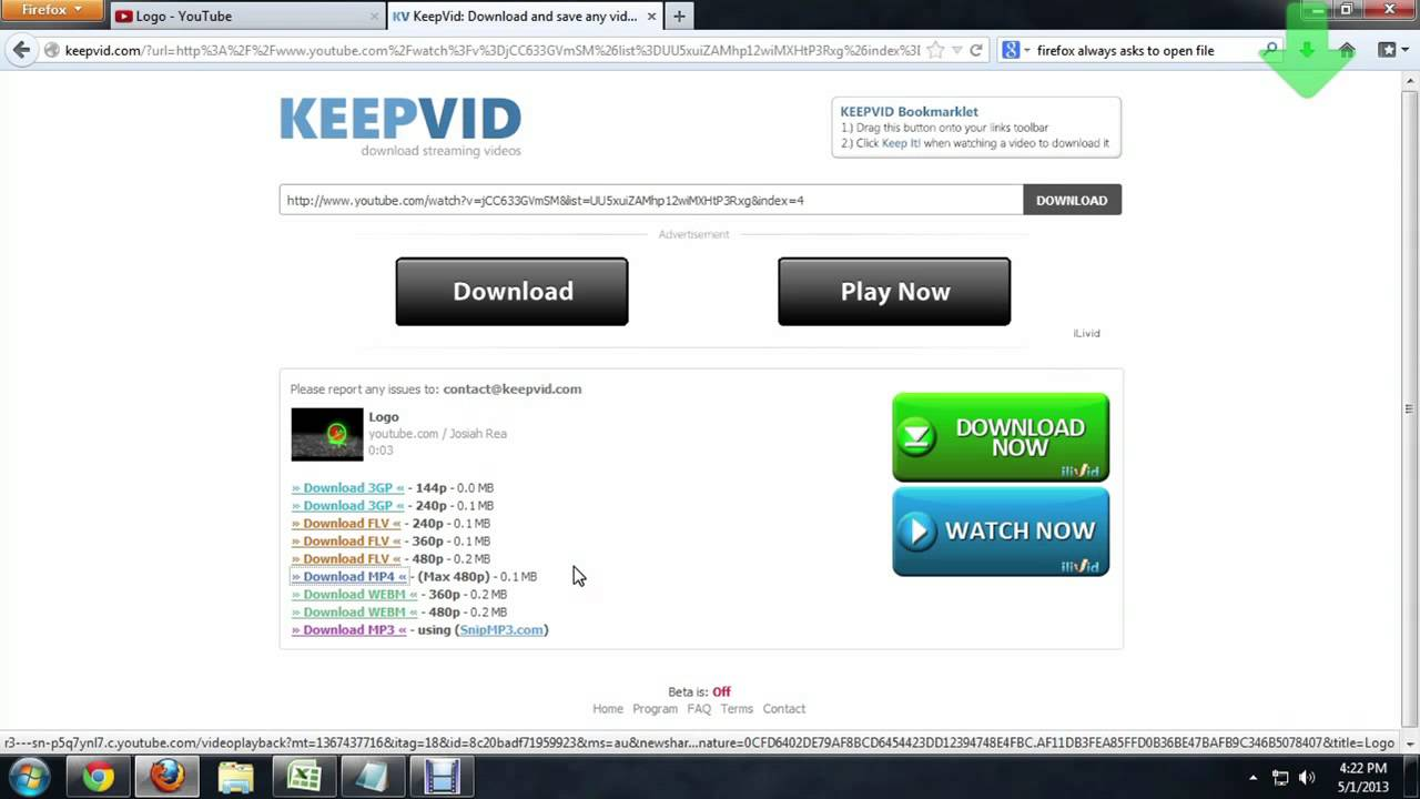 Download mp3 firefox