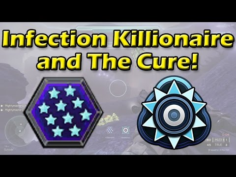 Halo 5 - Infection Killionaire and The Cure | Intense Round!