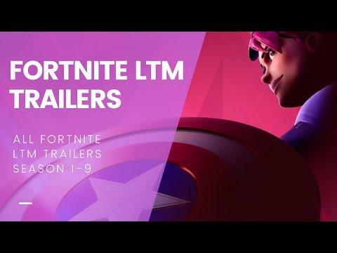 ALL Fortnite LTM Event Trailers (FORTNITE SEASON 1-9)