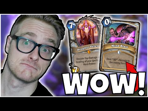 This is Why MIND BLAST was HALL of FAMED (OTK Quest Priest) | Ashes of Outland | Wild Hearthstone