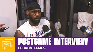 Lakers Postgame: LeBron James (12/1/19)