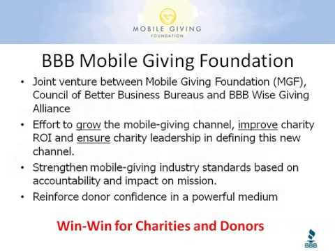 Webinar - Exploring the Possibilities of Mobile Giving - 2013-01-17