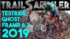 Ghost FRAMR 6.7 2019 im TEST | Brötchen holen auf Testbike | Lochentrail