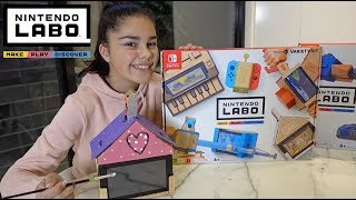 Be Creative with Nintendo Labo for Nintendo Switch | Grace's Room
