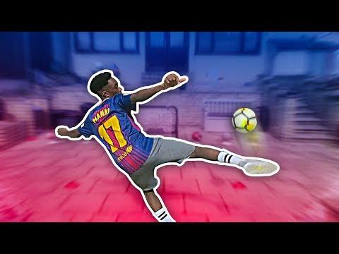 SKRRR THE DISS TRACKS! GARDEN FOOTBALL VS MY BROTHER PART 2!!!