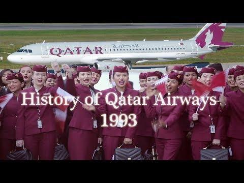 History of Qatar Airways in Urdu / Hindi   1993 to 2017   with English Subtitles