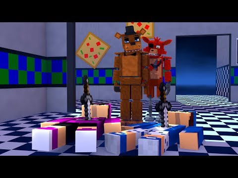 CINCO NOITE NO FIVE NIGHTS AT FREDDY'S 2 NO MINECRAFT !! thumbnail