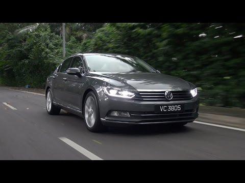 Volkswagen Passat B8 2.0 & 1.8 2017 - Roda Pusing Review