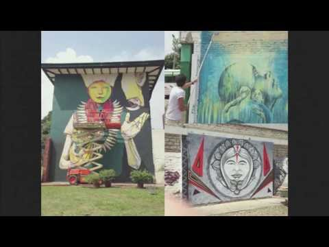 Gary Drostle - 'Las Manos de Todos': Graffiti, gangs, punk and mosaic in the barrios of Bogota.