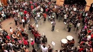 flash mob con el bolero de ravel