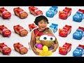 DISNEY CARS Toys 2018 Lightning McQueen Blind Box GOLD EASTER EGG HUNT