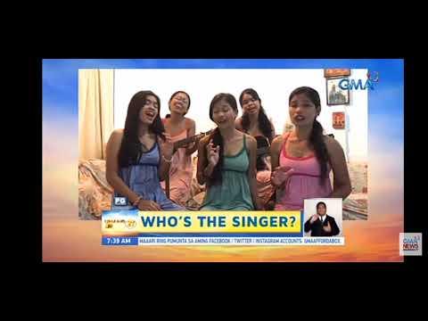 Who's the singer? - Unang Hirit Live - viral tiktokers of Oslob