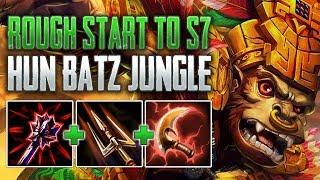 Season 7 Is Rough  Hun Batz Jungle Gameplay (SMITE Conquest)