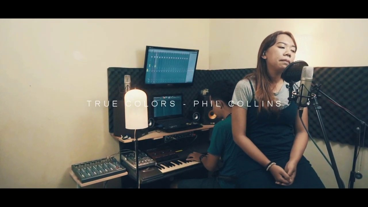 Download True Colors - Phil Collins (Piano Vocal ) LIVE dentisna at Bedroom Session