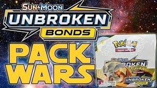 PACK WARS!!! Pokemon Unbroken Bonds Booster Box Opening!