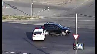 Авария с полицией.