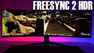 AMD Freesync 2 HDR - ROG Strix XG49VQ