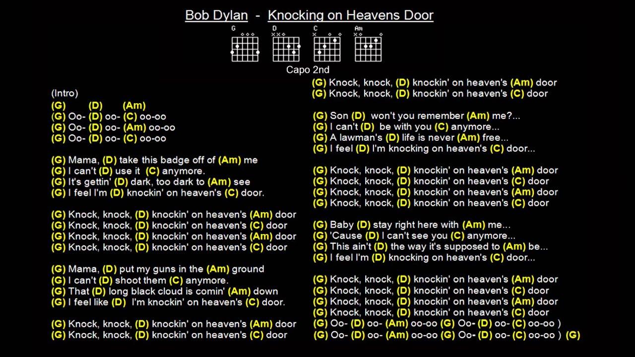 Bob Dylan Knocking on Heavens Door Extended VersionJam Track