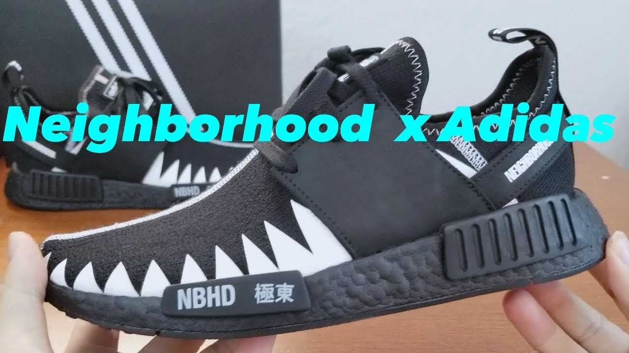 eb2848f4dd5a3 Adidas x Neighborhood NMD R1Collaboration Sneaker review! - YouTube