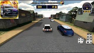 3D Police Run Drag Racing Simulator Gameplay