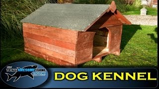 How To Build A Dog Kennel From Pallet Wood - Tafishing Show