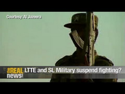 LTTE and SL Military suspend fighting for two days