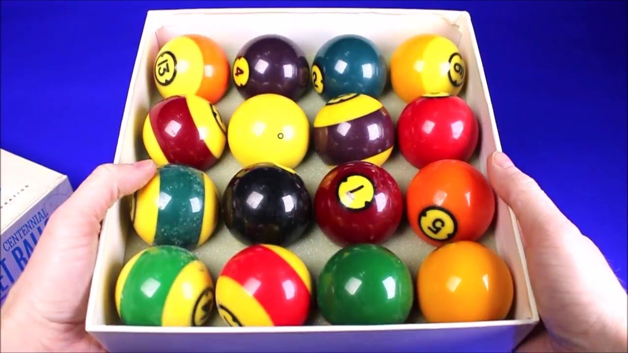 Brunswick Centennial Gold Crown Pocket Balls Billard Balls Pool Table Balls  Video For Sale On Ebay