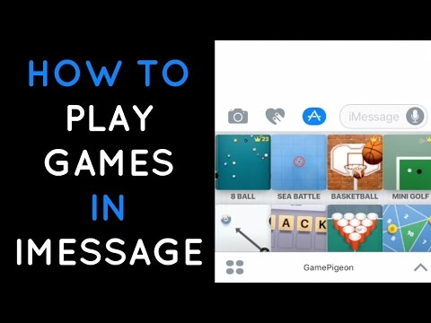 How To Play Games On Imessage | Game Pigeon APP