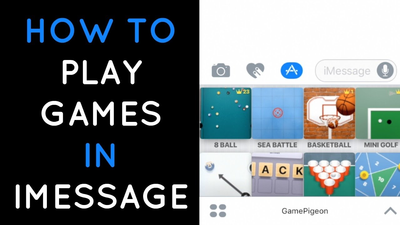How to Play Games in iMessage App on iOS and Android?