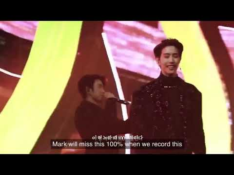 Got7 mark forget his part in Hard Carry