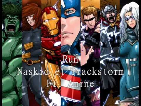 [nightcore] Run Naskid et Trackstorm Ft....