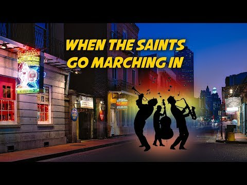 When The Saints Go Marching In | Free Nursery Rhymes [Karaoke with Lyrics]