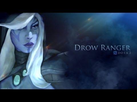 видео: Обновленный dota 2 Гайд по герою - Тракса | traxex | drow ranger - Как затащить стоя на миде