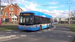 Arnhemse trolleybus - Trolleybuses in Arnhem, Netherlands 2017