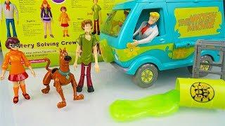 Scooby Doo - Unboxing di tutti i Personaggi e del furgone Mistery Machine con lo slime