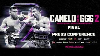 Watch LIVE! Canelo vs. GGG 2 final press conference: Wed., Sept. 12 at 3pm ET/12pm PT
