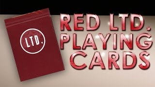 Deck Review - LTD Playing Cards First Edtion Red