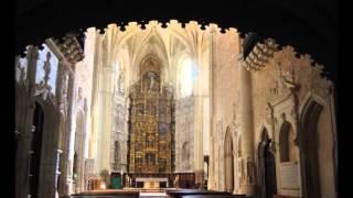 Canto Gregoriano durante la misa en el Monasterio de Santa Maria del Parral, Segovia (I)