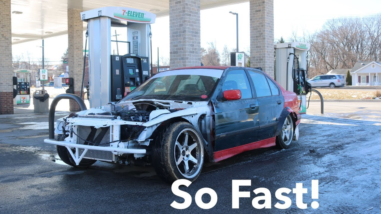 LS Swapped E36 Finnally Drifting! ITS SO FAST!!!