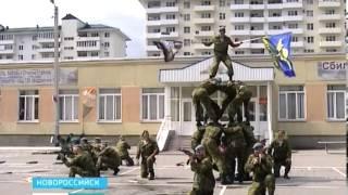 Военным шоу и парадом отметили в Новороссийске День ВДВ