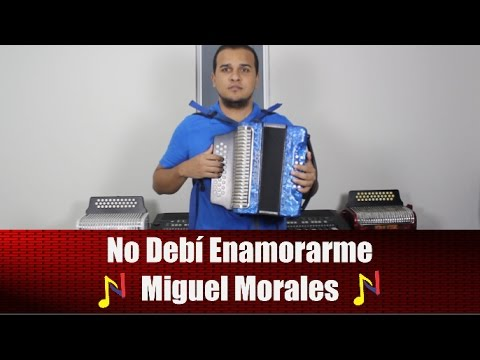 Tutorial Acordeon No Debi Enamorarme