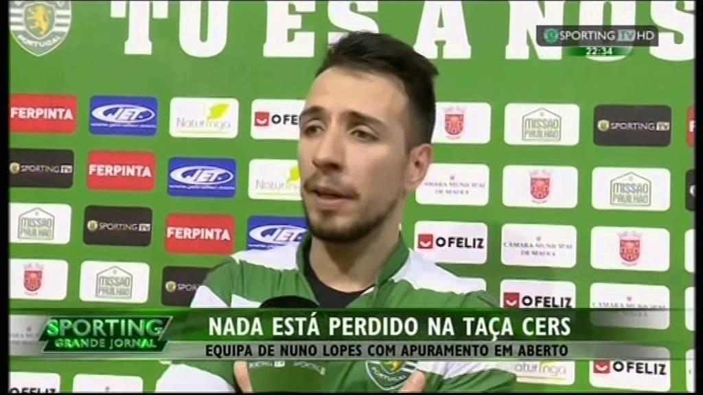 Hoquei Patins :: Sporting - 2 x Oliveirense - 3 de 2014/2015 Taça Cers 1/4 Final - 1ª mão