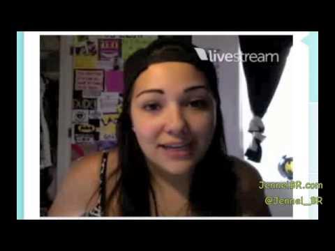 Jennel Garcia - Twitcam - 06.21.13